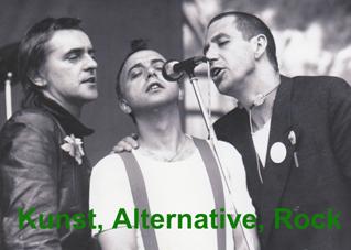 Kunst, Alternative, Rock