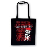 Stop Vivisection - Stofftasche