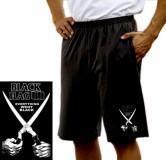 Black Flag Schere - Shorts