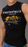 Knochenfabrik (Ameisenstaat) Orange Muscle Shirt