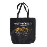 Knochenfabrik (Ameisenstaat) Orange Stoffbeutel