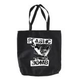 Plastic Bomb - Einkaufswagen Stoffbeutel