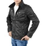 Armored Biker Jacket schwarz Größe XXL