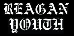 .Reagan Youth logo großer Aufnäher