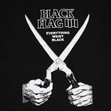 Black Flag (Schere) Aufnäher