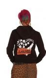 100blumen - Keine Namen Keine Strukturen Kapu Zip Girl