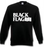 Black Flag - big logo (whiteprint) Sweatshirt