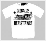 Globalize Resistance - Motiv schwarz Girlie