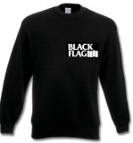 Black Flag (Logo/Brust) Sweatshirt