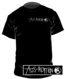 Aus-Rotten - Brustaufdruck T-Shirt