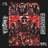 Subhumans / The Restarts - Split 7+MP3 (farbig)
