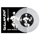 Discharge - New World Order 7 (clear)