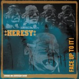 Heresy - Face Up To It! 2xLp+CD (30th Anniversary Edition)