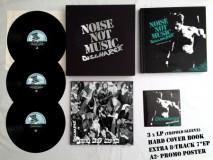 Discharge - Noise Not Music 3xLp+7 Boxset + Buch