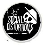 Social Distortion Skull - Button