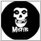 Misfits (Skull) - Button