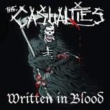 Casualties - Written In Blood Lp (farbig)