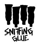 Sniffing Glue - Aufnäher Klebertuben 1