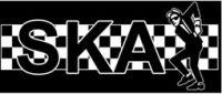Ska (skank) - Aufnäher
