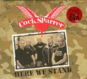 Cock Sparrer - Here We Stand (US) CD+DVD