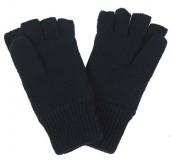 Fingerstallhandschuhe Thinsulate schwarz