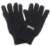 Strickhandschuhe Thinsulate schwarz