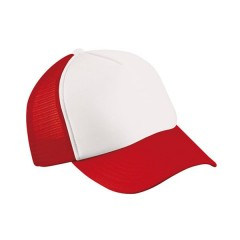 Mesh Cap White/Red