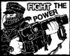 Fight The Power -Aufnäher