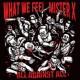 What We Feel / Mister X - All Against All Split CD